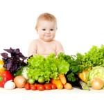 Вегетарианство и дети-наш ребёнок вегетарианец с рождения