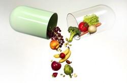 вегетарианский рацион полностью сбалансирован по содержанию в нём витаминов и микроэлементов.