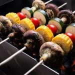 Овощные шашлыки, готовим вместе!