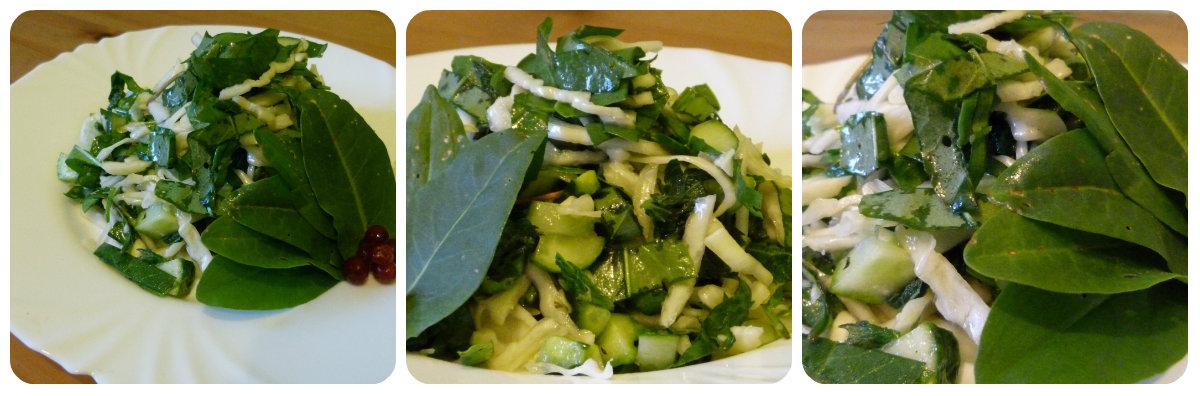 витаминный салат-наш рецепт