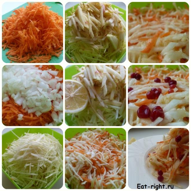 витаминный салат - наш рецепт