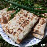 Брынза на мангале, наш сытный рецепт!