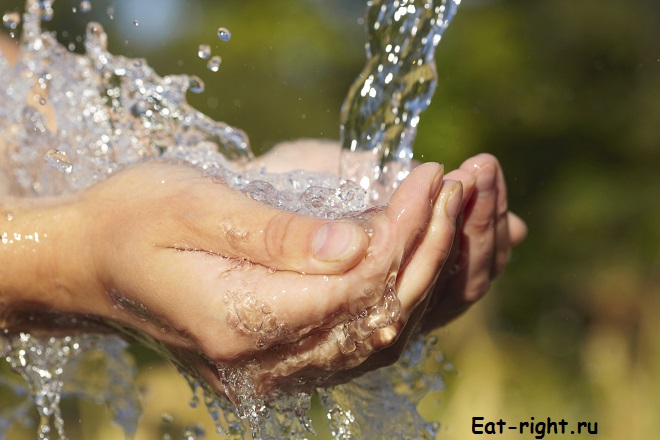 внутренняя структура воды