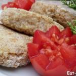 Вегетарианские котлеты из пшеничной каши