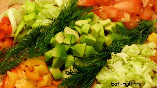 самый новогодний салат