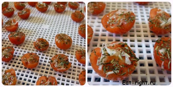 томаты в масле
