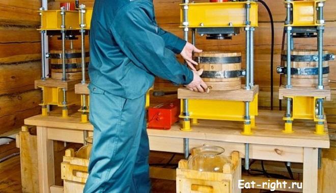Приготовление растительных масел