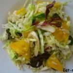 Рецепт вкусного салата с рисом и ананасовым соком