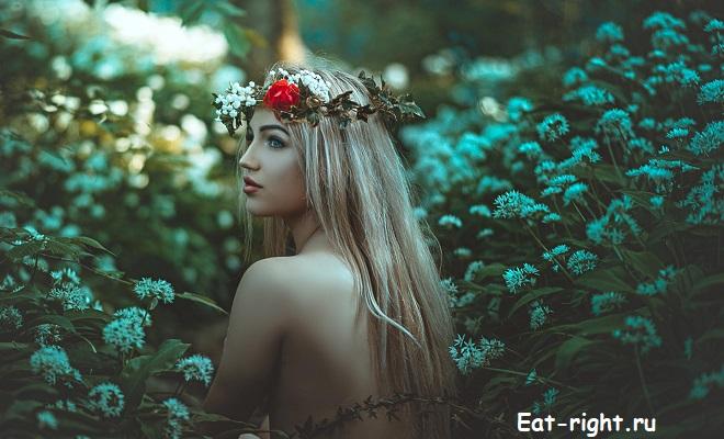 питание Анастасии