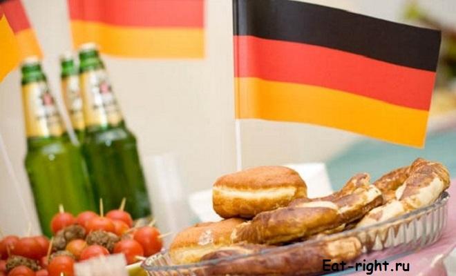 Уличная еда в Германии