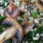 Рецепт перловки с грибами и черемшой